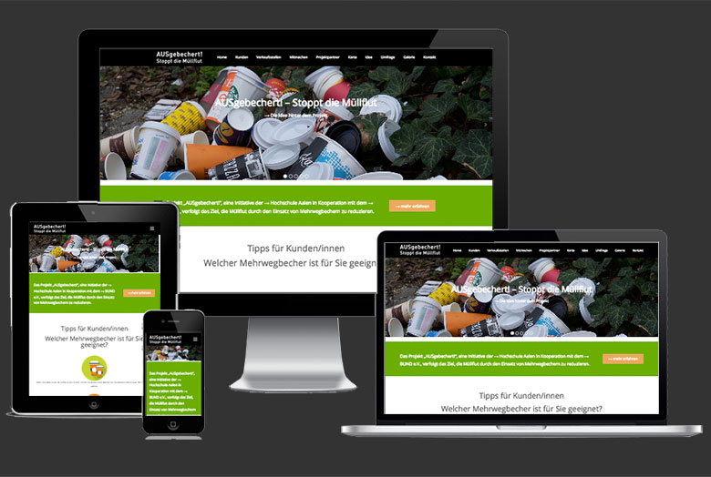Website Kampagne