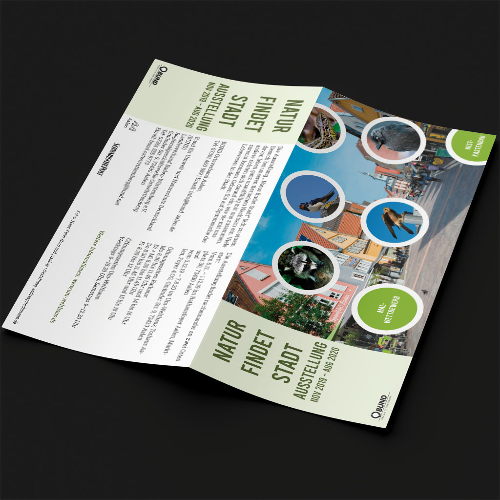 """Postkarte """"Natur findet Stadt"""""""